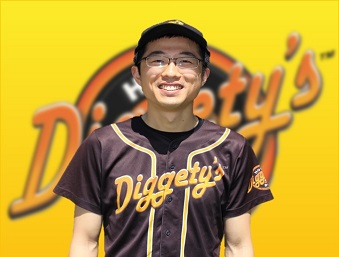 Diggety's Hot Dogs staff, Jack is the Pitcher