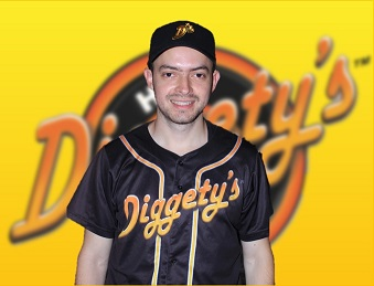 Diggety's Hot Dogs staff, Sebastian is the First Baseman