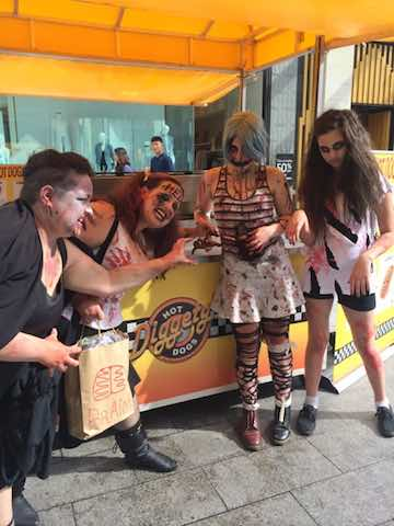 Diggetys-Hot-Dogs-event-Zombie-Walk-Adelaide